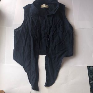 Abercrombie and Fitch Crop Shirt